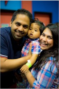 Kabir's First Birthday